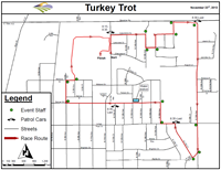 2013 Turkey Trot Map
