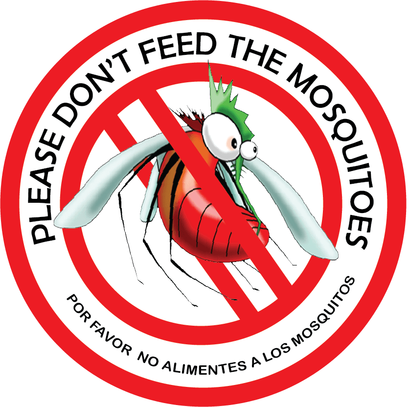 Don't feed the mosquitoes Opens in new window