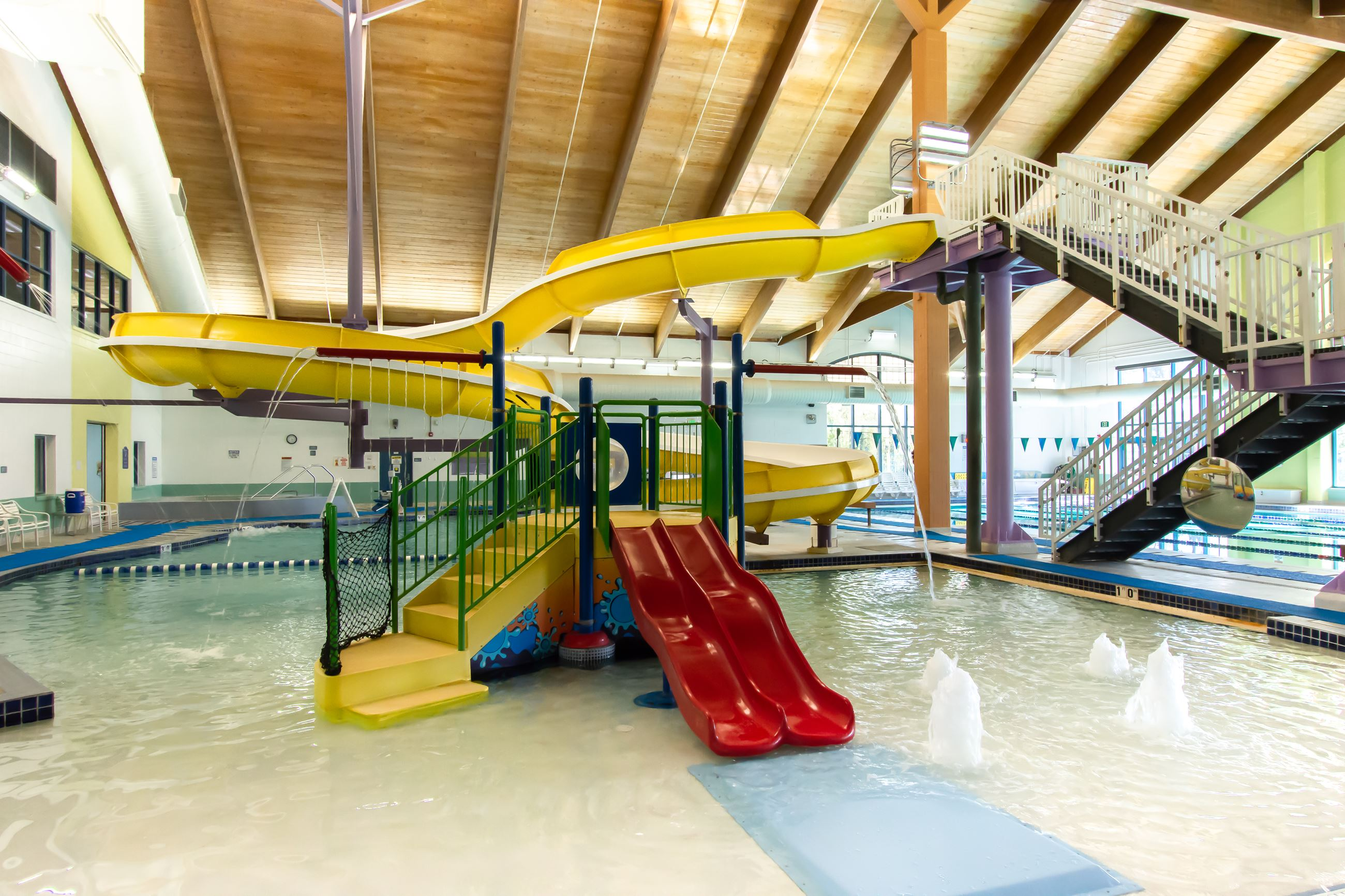 Indoor Pool Play Feature
