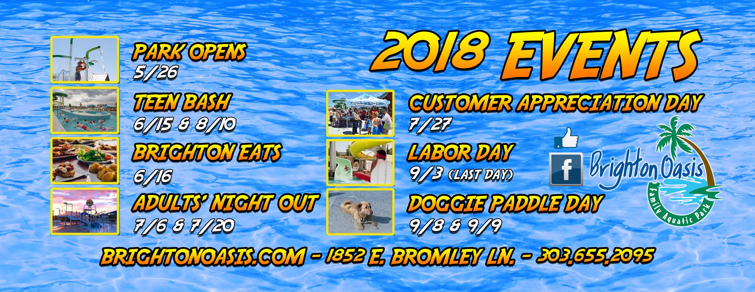 OASIS 2018 EVENTS BANNER 8X3