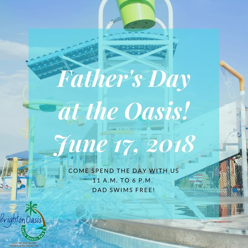 Father Day at the Oasis