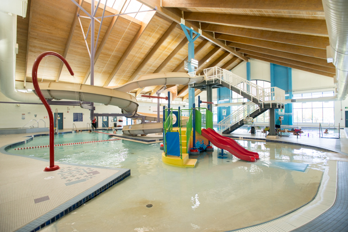 Brighton Recreation Center Indoor Pool - Photo Credit Rich Vossler Photography