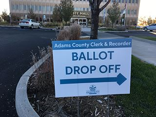 CIty Hall ballot drop off