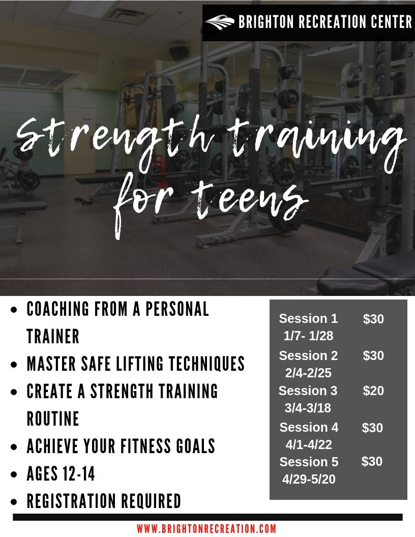 Teens Strength Training