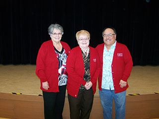 EVAC 2019 Red Sweater Volunteers