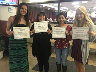 BEC 2019 scholarship winners
