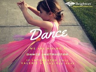 Hiring for Dance Instructor 320x240