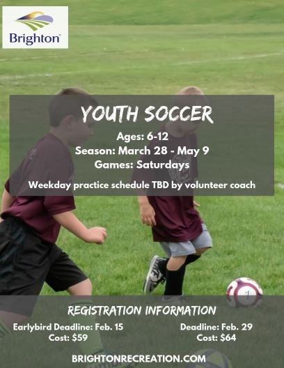 2020 Youth Soccer Flyer
