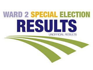 Ward 2 Special Run-off Election