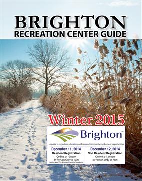 Brighton Recreation Center Winter 2014-2015 Brochure
